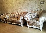 Диван  раскладной, софа и кресло  модель Барокко, фото 5