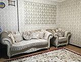 Диван  раскладной, софа и кресло  модель Барокко, фото 7