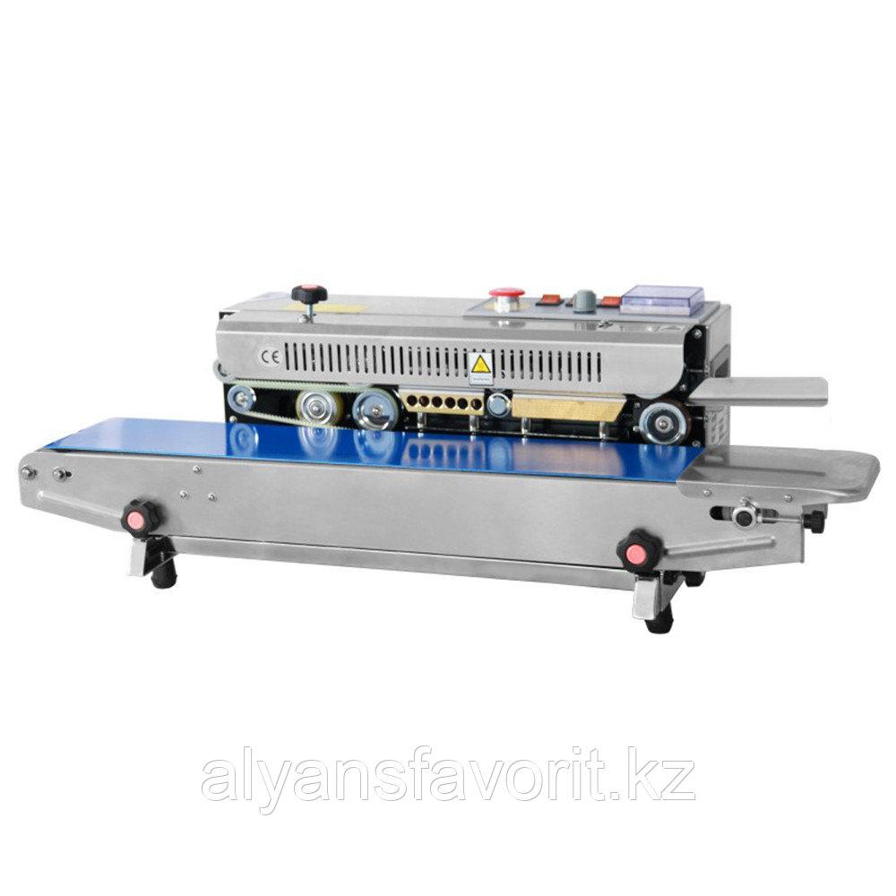 Роликовый конвейерный запайщик горизонтальный FRB-770I SS (нерж.)
