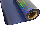 Термо флекс 0,5мх25м голографический черный с узором метр, фото 2