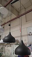 Светильник подвесной двойной 17240-2 (черный)
