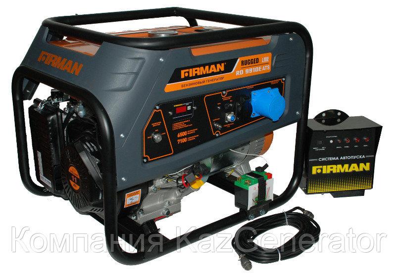 Бензиновый генератор FIRMAN RD 9910E+ATS