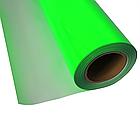 Термо флекс 0,5мх25м PU флуоресцентный зеленый метр, фото 2