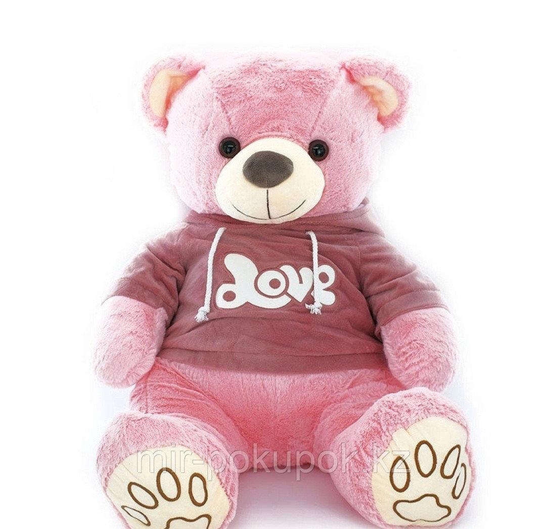 Мягкая игрушка Медведь Love 80см, Алматы