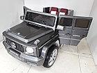 Мощный электромобиль на гелевых колесах Гелендваген 4WD! Mercedes AMG! Машинка! Электрокар!, фото 8