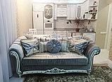 Диван  раскладной, софа и кресло  модель Барокко, фото 3