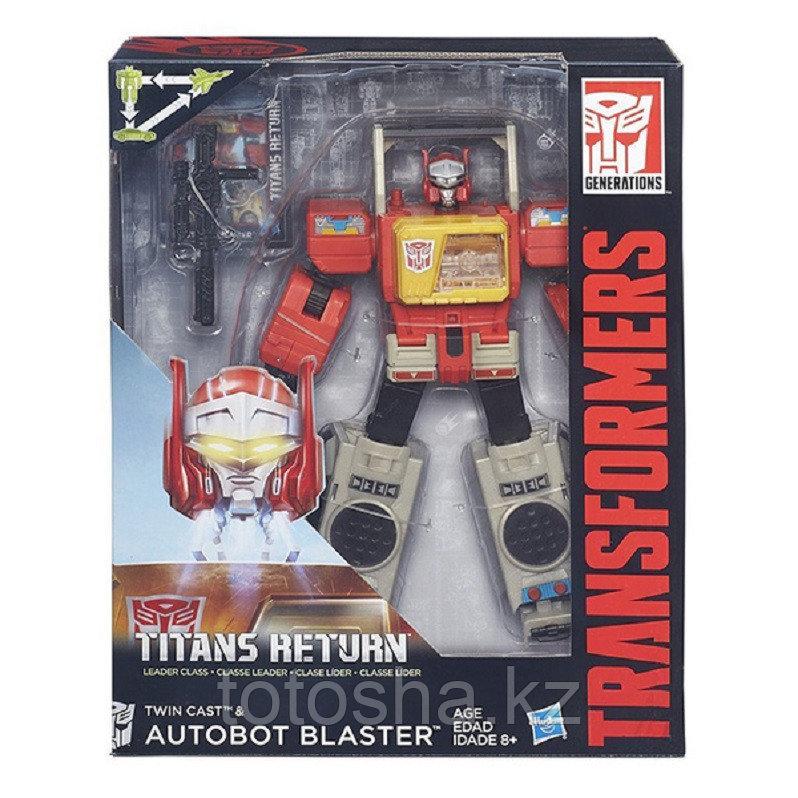 Hasbro Transformers B7997 Autobot Blaster (Автобот Бластер)