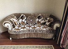 Диван  раскладной, софа и кресло  модель Адель