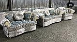 Диван  раскладной, софа и кресло  модель Адель, фото 4