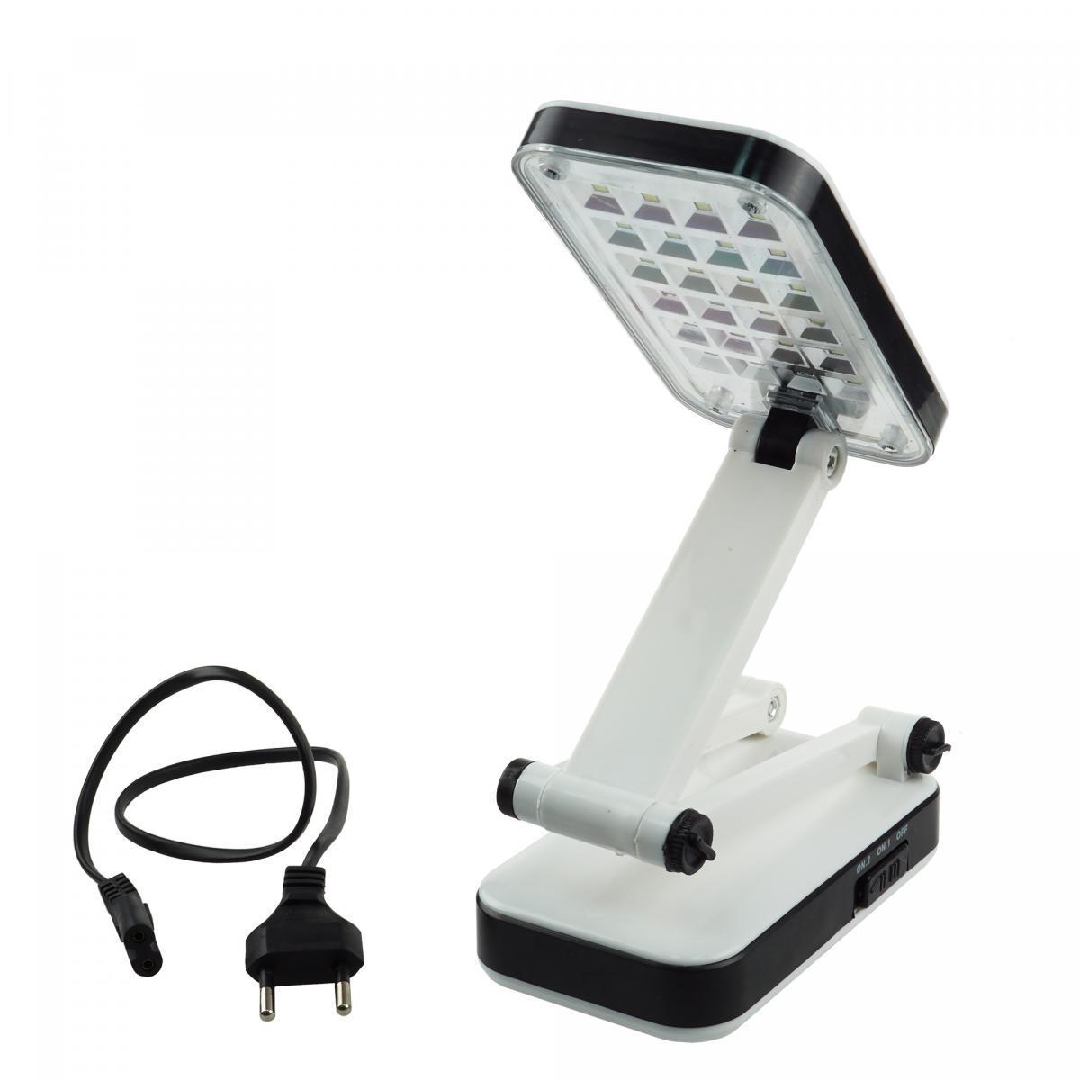 Настольная лампа трансформер 24 LED с аккумулятором - фото 2