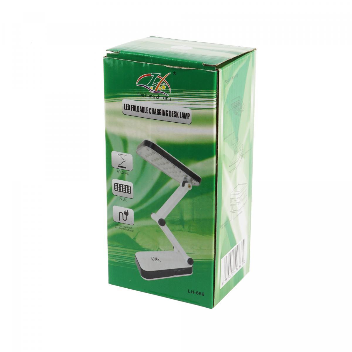 Настольная лампа трансформер 24 LED с аккумулятором - фото 6