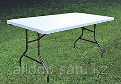 Стол с пластиковой столешницей 183*75см