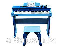 """Детское электронное пианино (синтезатор)  """"Schoenhut"""", со стулом"""