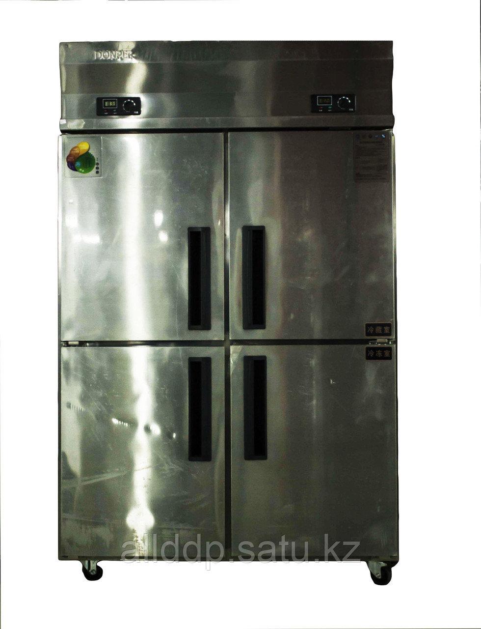 Шкаф холодильный, комбинированный, 750 л, нержавеющая сталь