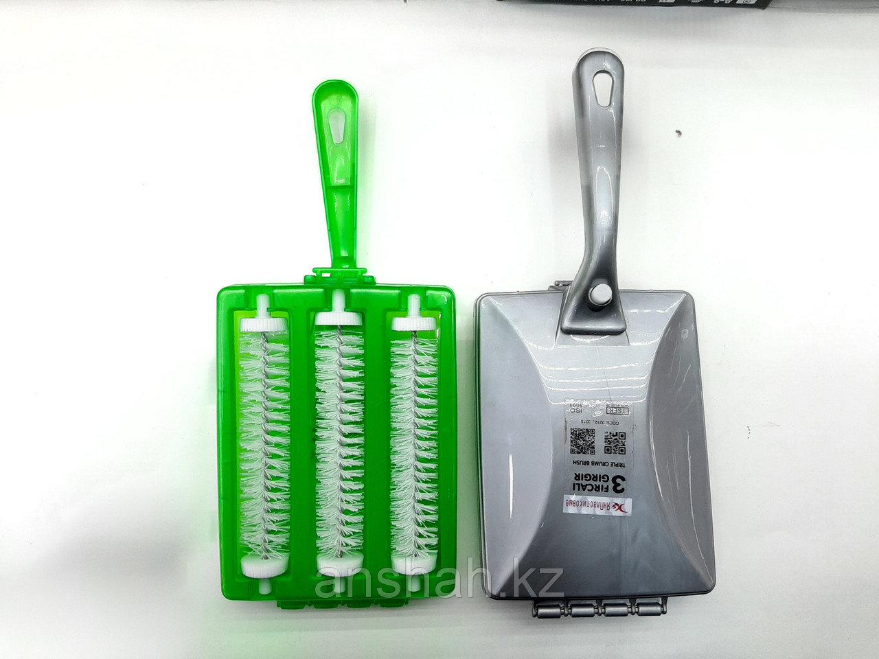 Механический пылесос с 3 роликами