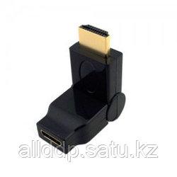 """Переходник """"HDMI/F to Micro HDMI/M (поворот на 180°)"""""""