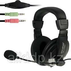 "Наушники ""Headphones+ microphone  OVLENG  OV-L 750 MV ,Ø 40mm,32Ω ±  15℅,100± 3 dB,20-20,000Hz,50mW,2m"""