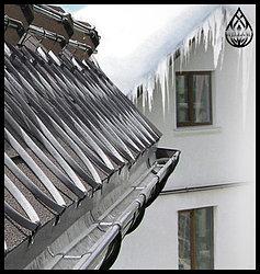 Монтаж системы антиобледенения и снеготаяния
