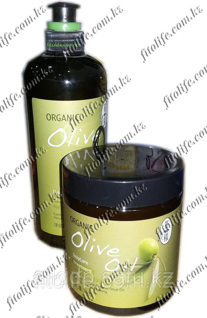 Комплект Шампунь+Кондиционер, натуральное масло оливы