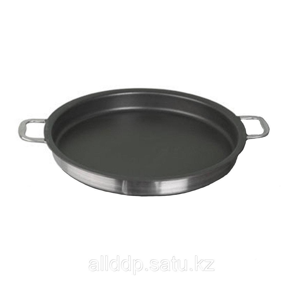 Сковорода профессиональная с тефл. покрытием, низкие борта,40 см