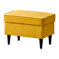 Банкетка СТРАНДМОН Шифтебу желтый ИКЕА, IKEA , фото 1