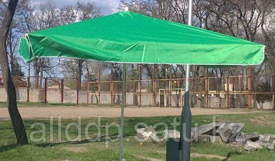 Зонт пляжный 1,8х1,8 м, мод.701BG (зеленый)