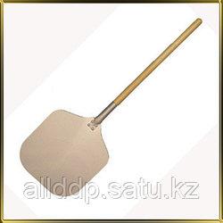 Цельная лопата для пиццы с деревянной ручкой, 35*70 см