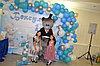 Мишка Тедди и мыльные пузыри в Павлодаре