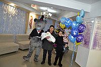 Мишка Тедди с мыльными пузырями в Павлодаре