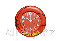 """Настольный будильник """"Баскетбол"""", оранжевый"""