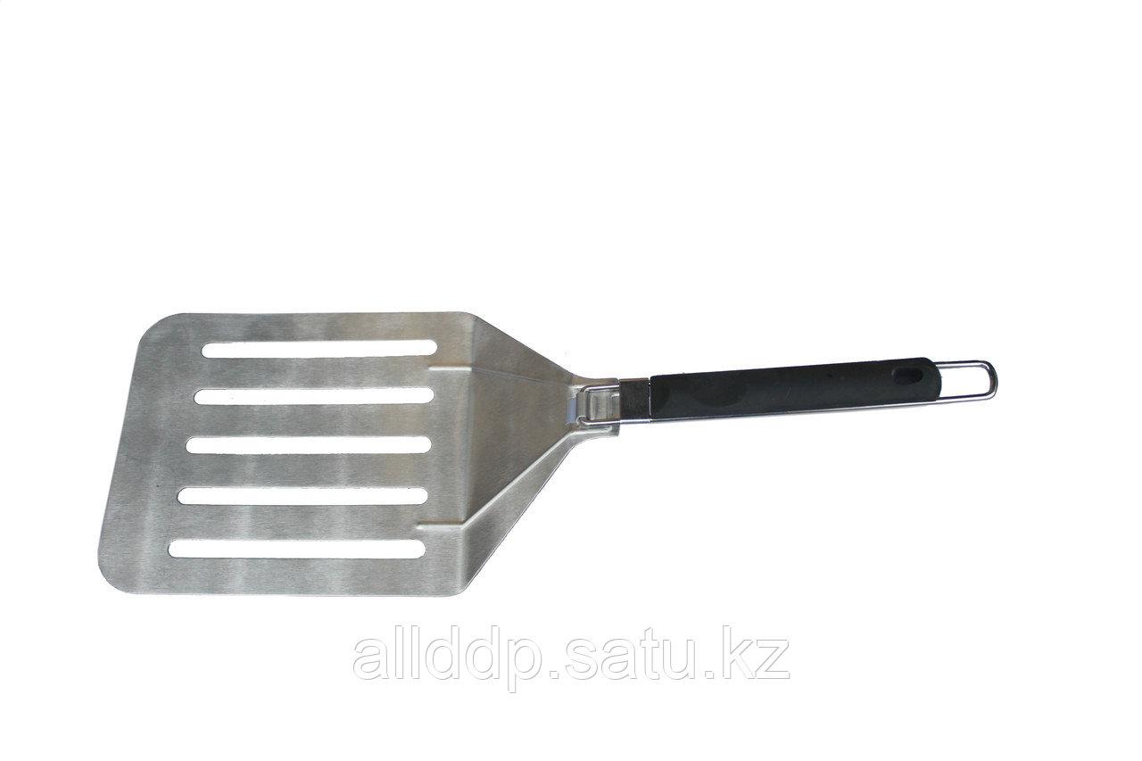 Лопата поворотная для изъятия готовой пиццы из печи, 25*56 см