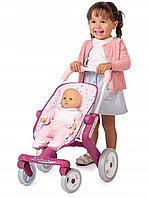 Коляска для кукол Smoby прогулочная Baby Nurse
