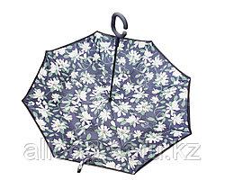 Зонт-наоборот, белые цветы