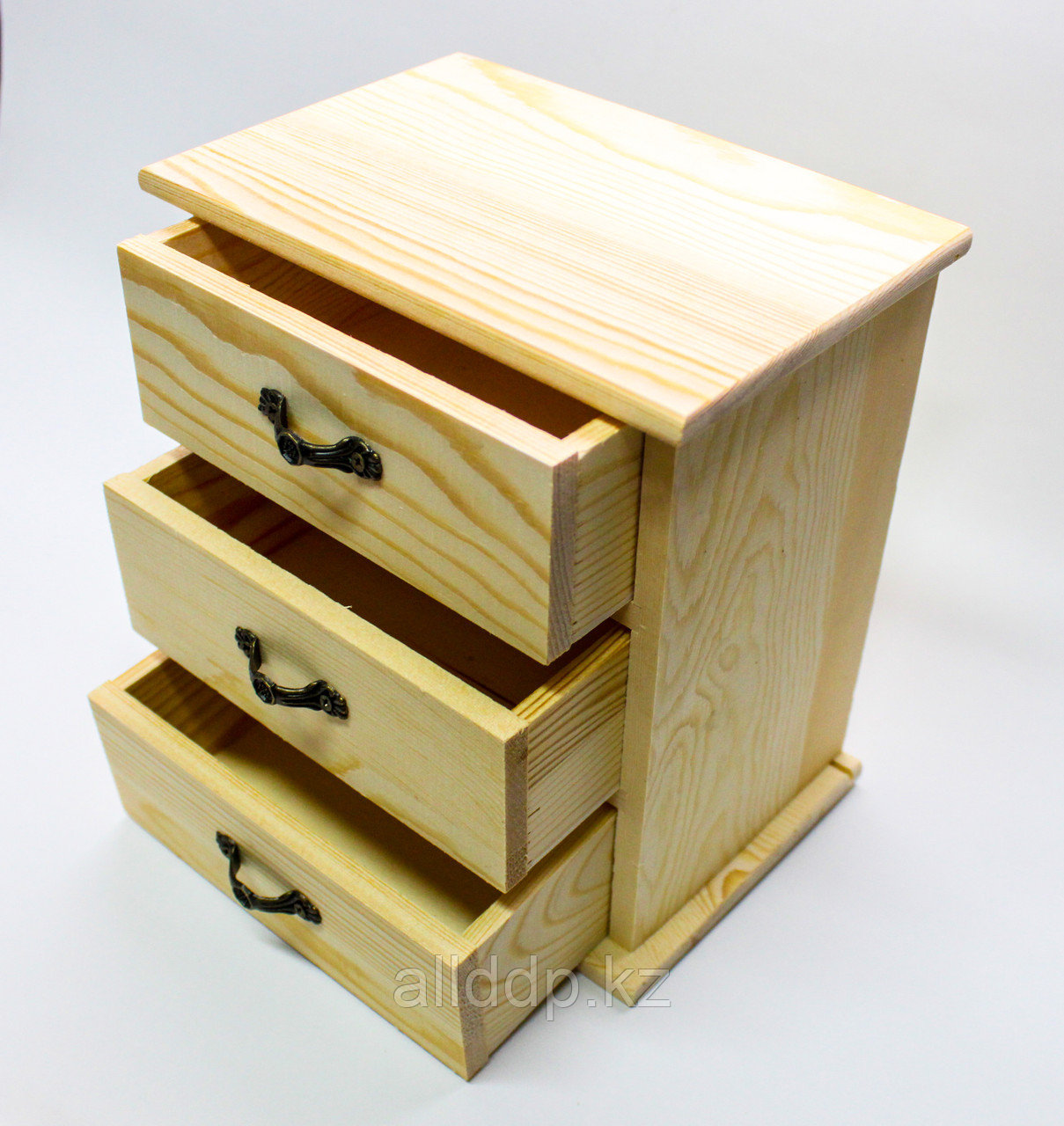 """Заготовка для декора """"Шкатулка-ящик"""", деревянная, 17*16 см"""