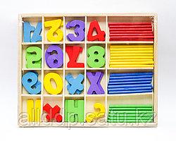 Палочки для счета и цифры, 24*21 см
