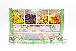 Набор для плетения браслетов, деревянный