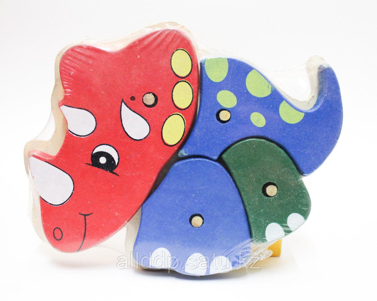 """Кубик-конструктор для малышей """"Динозавр"""""""