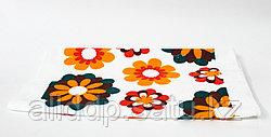 Полотенце кухонное, цветы, 60*38 см