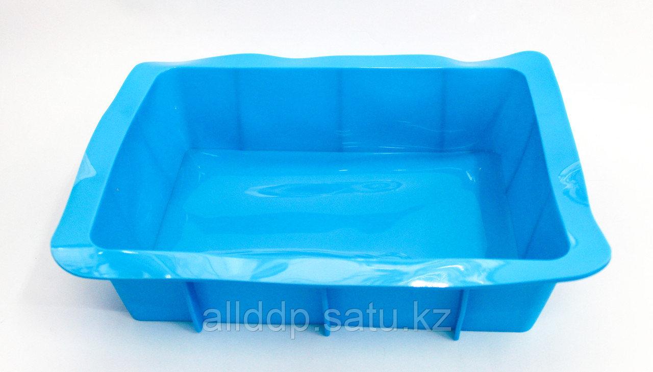 Силиконовая форма для выпечки, прямоугольная, 27*17 см