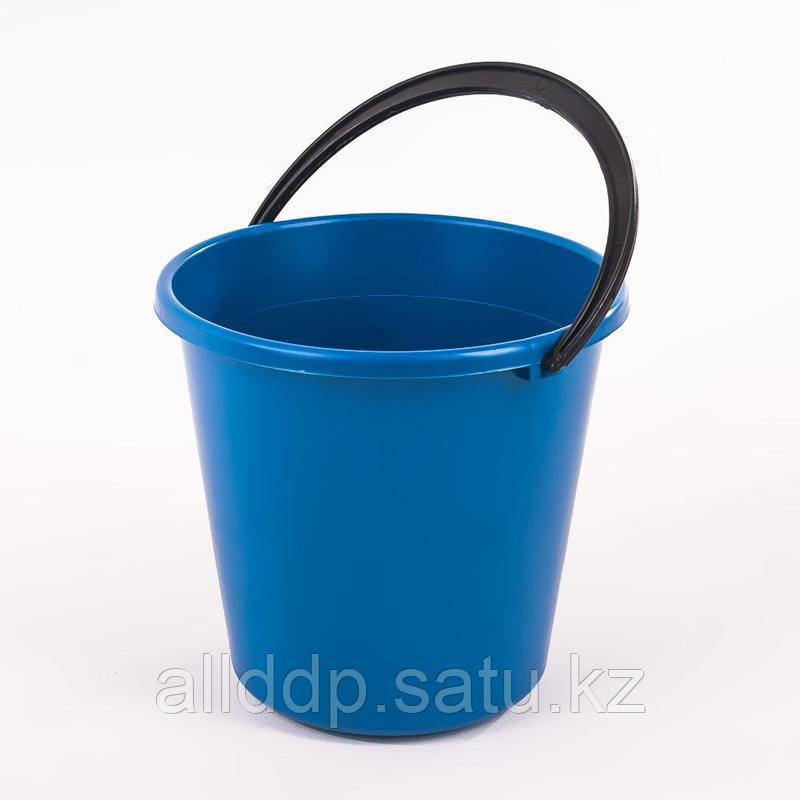 Ведро 10л ПЭ синий  Р135