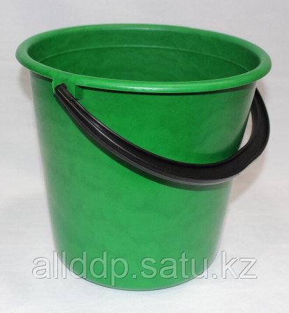 Ведро 5л ПЭ зеленый  Р202