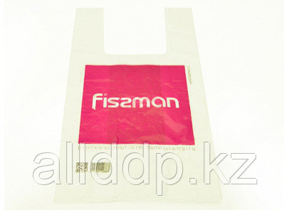 """Пакет """"Майка"""" 30+15х50/20 мкм бел. (FISSMAN)"""