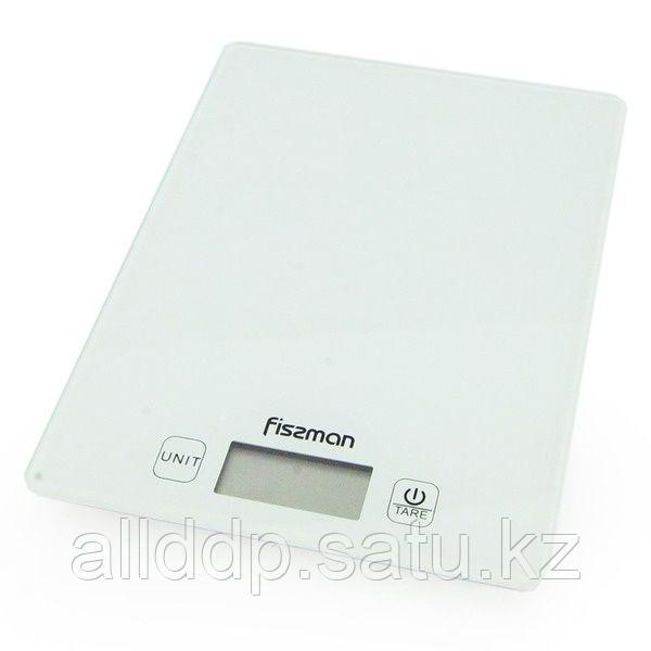 0320 FISSMAN Весы кухонные электронные 19x14x1,4 см