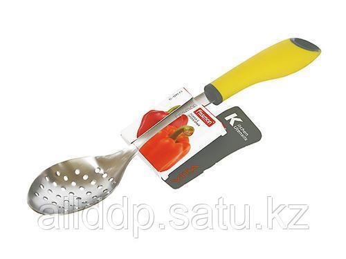 1295 FISSMAN Ложка с прорезями VITA (нерж. сталь)
