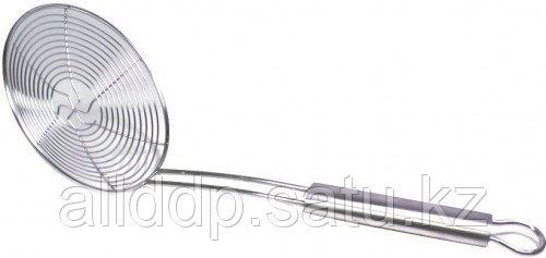 1526 FISSMAN Шумовка сетчатая 14 см (сталь)
