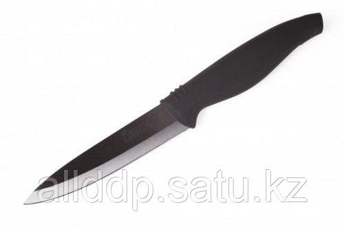 2124 FISSMAN Разделочный нож MARGO 10 см (черное керамическое лезвие)