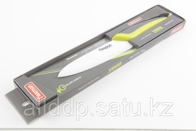 2248 FISSMAN Поварской нож VENZE zirconium plus 15 см (белое керамическое лезвие)