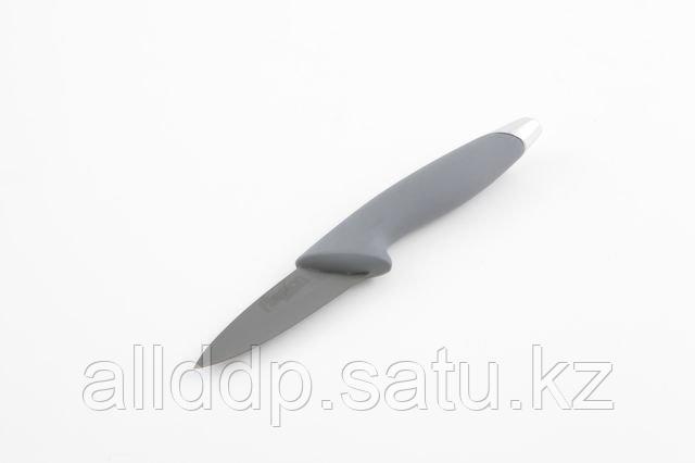 2257 FISSMAN Разделочный нож HUNTER zirconium plus 8 см (черное керамическое лезвие)
