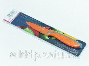 2290 FISSMAN Овощной нож JUICY 8 см (нерж. сталь с цветным покрытием)