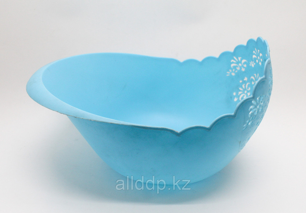 Фруктовница, голубая, D 240 мм